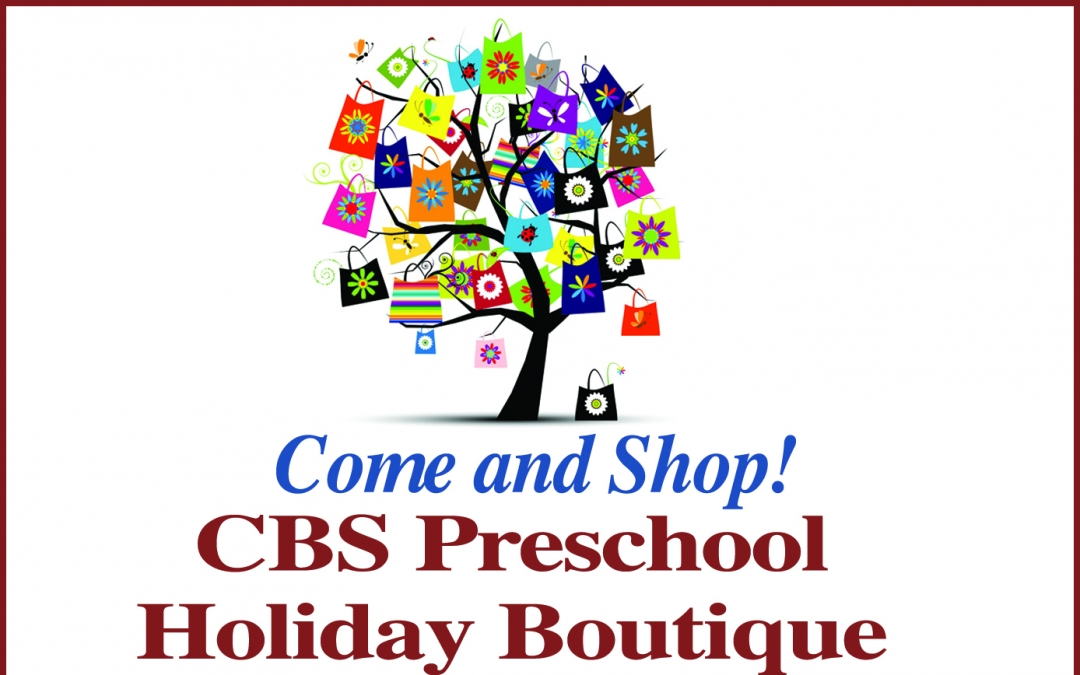 The CBS Holiday Boutique