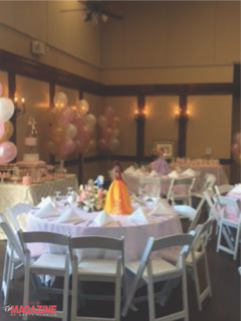 First Birthday Party Celebrations  at The Paseo Club!
