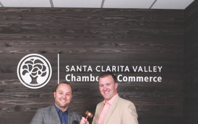 Santa Clarita Valley Chamber of Commerce – Handing Over the Gavel in 2018
