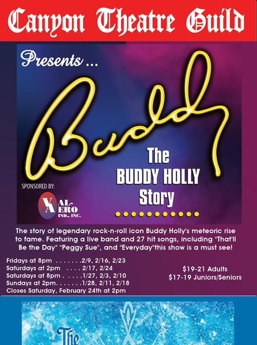 Two Great Shows Coming to Canyon Theatre Guild
