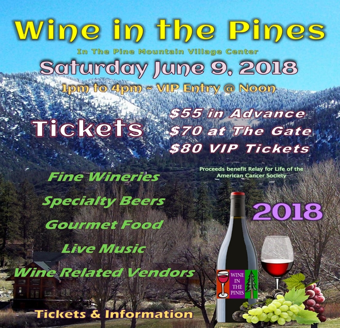 Wine in the Pines, 2018
