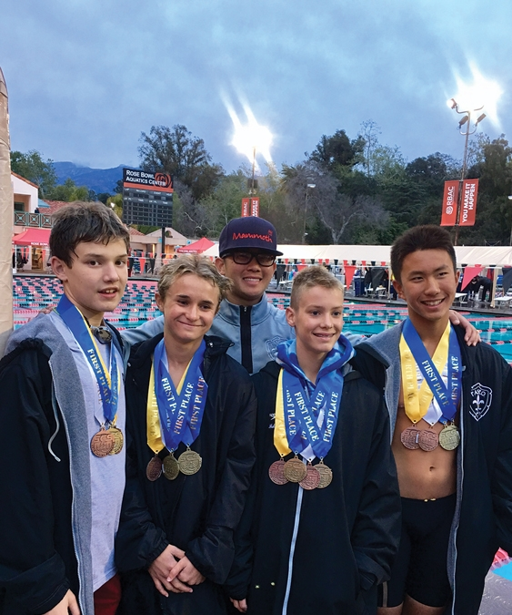 Paseo Aquatics Finishes in Top 15 Out of 90 Clubs at SoCal Swim 14 and Under Short Course Junior Olympic Championships