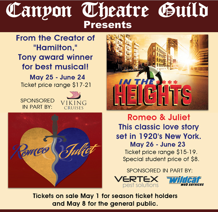 Enjoy the Arts at Canyon Theatre Guild