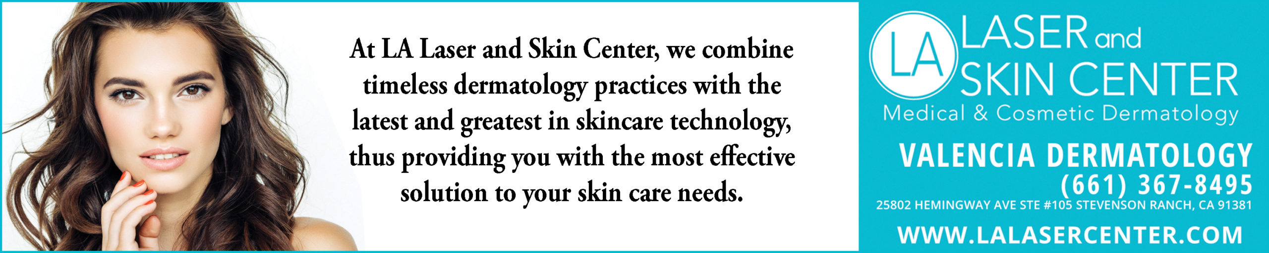 Valencia Dermatology Web AD TOP