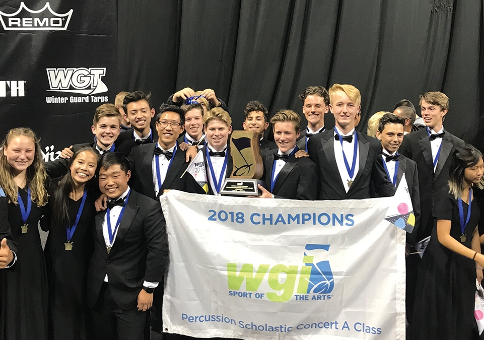 West Ranch Percussion Ensemble Wins World Championship