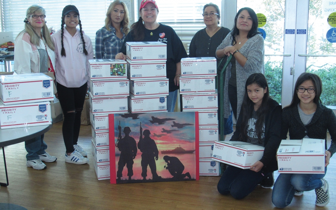 SCV Patriots Day Care Packing for Local Troops Saturday, September 8, from 8 a.m. to 11 a.m. at American Legion