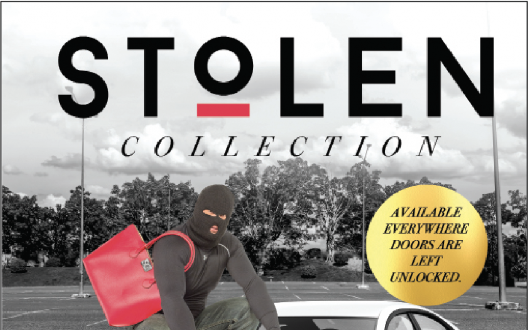 """Don't Let Your Items Become a Part of """"The Stolen Collection"""" Prevent Property Theft by Securing Your Valuables"""