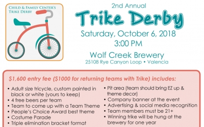 Child & Family Center's 2nd Annual Trike Derby