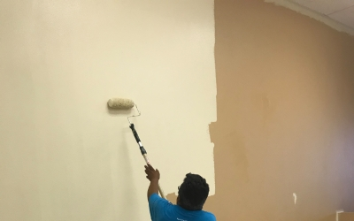 Bridge to Home's Homeless Services Center Receives Makeover from Local Painting Company