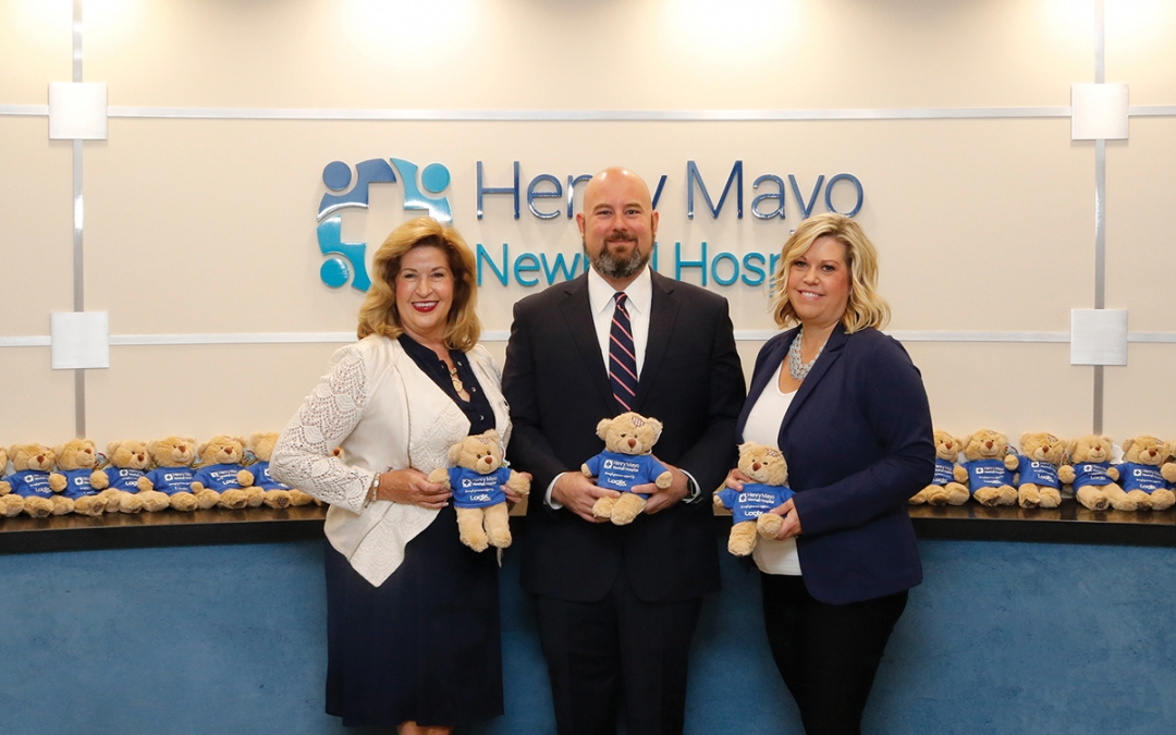 Logix Federal Credit Union Sponsors Palliative Bear Program at Henry Mayo Newhall Hospital