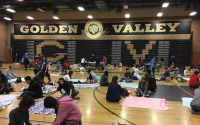 Make a Blanket Day for Project Linus Join us on September 22 at Golden Valley High School