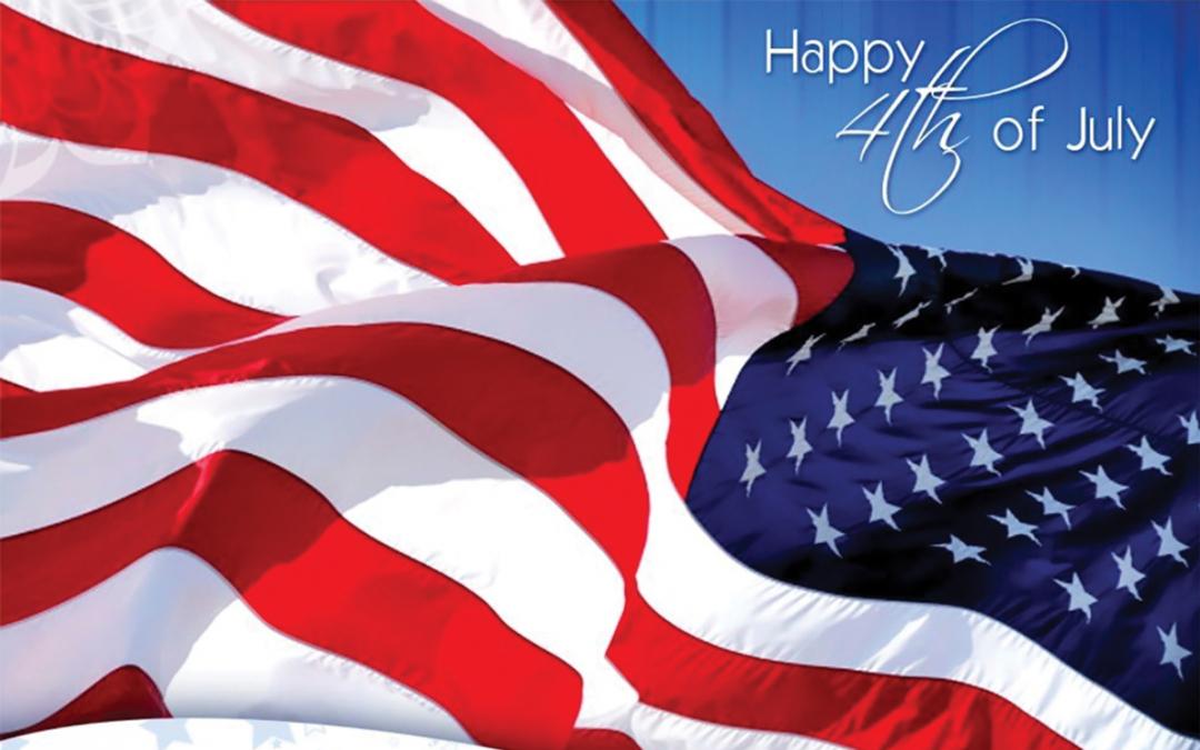 Independence Day Calendar Celebrating July 4th