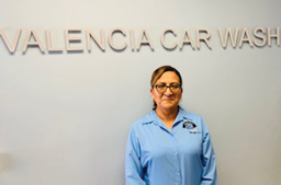 Sandra Silvestre named Manager at Valencia Car Wash