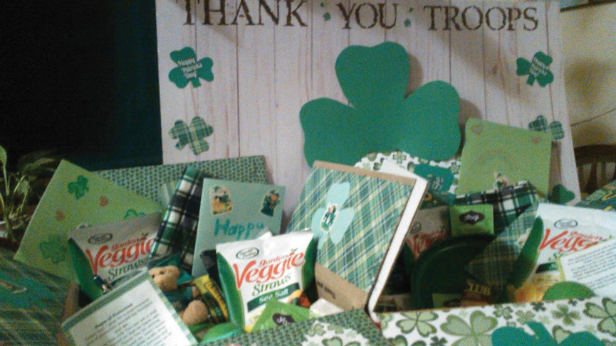 St. Paddy's Day for Troops