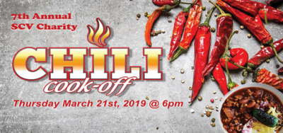 Chili Teams Go Head-to-Head and Ladle up the 7th Annual SCV Charity Chili Cook-off