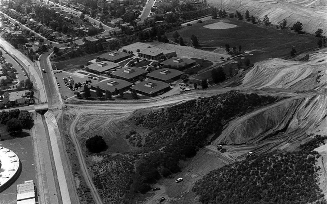 SCV History Column: Decoro Drive Under Construction Arroyo Seco Junior High School