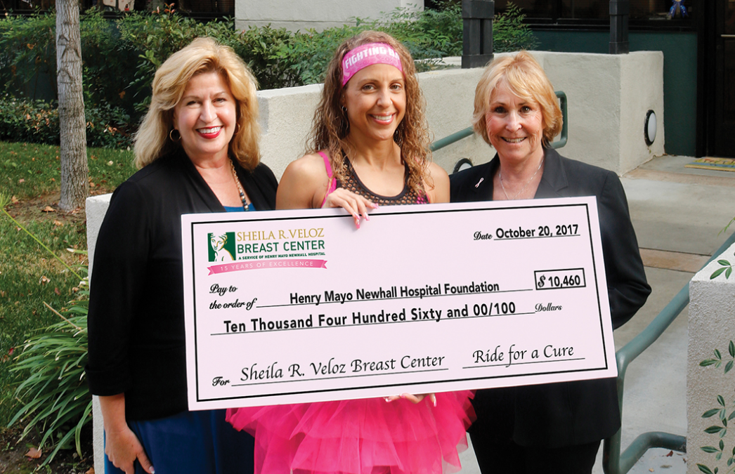 Ride for a Cure Fight Breast Cancer with Janet Cheveres