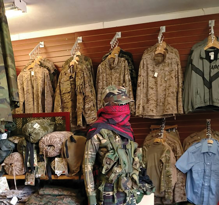 Keeping Santa Clarita Prepared Commando Military Surplus