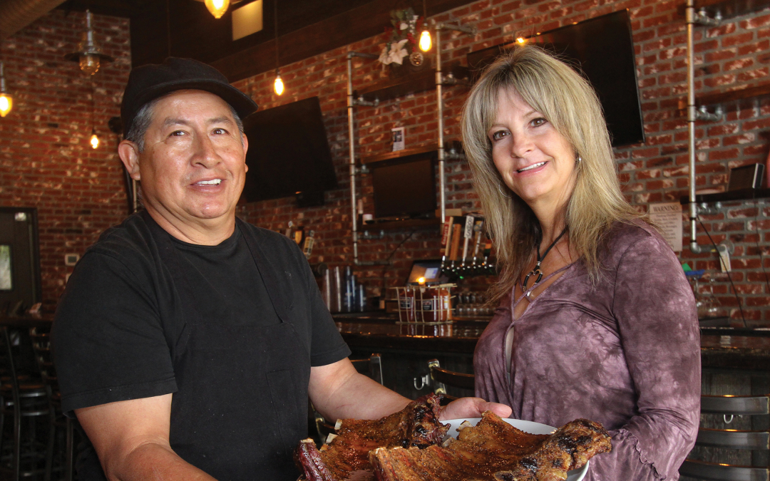 Serving up Smoking Hot Cuisine In the Heart of Old Town Newhall