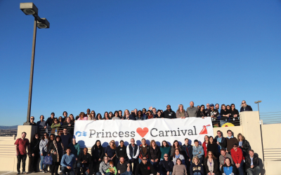 Did you Catch a Glimpse of The Carnival Cruise AirShip?