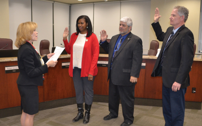 Hart School District Board Swears in Elected Members