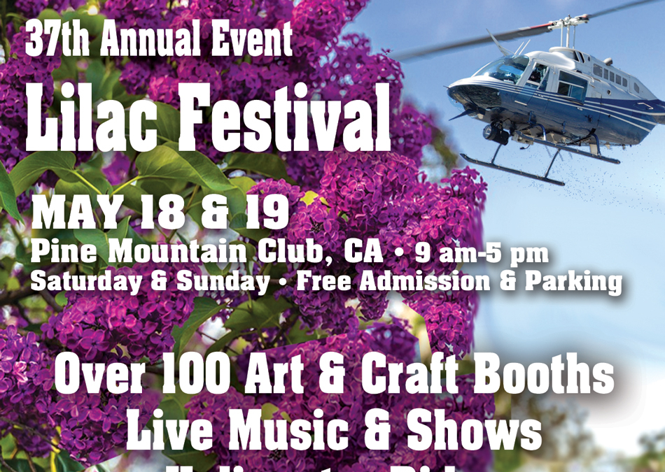The Lilac Festival in Pine Mountain Club