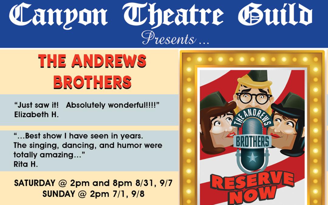 It's a Hit – Canyon Theatre Guild