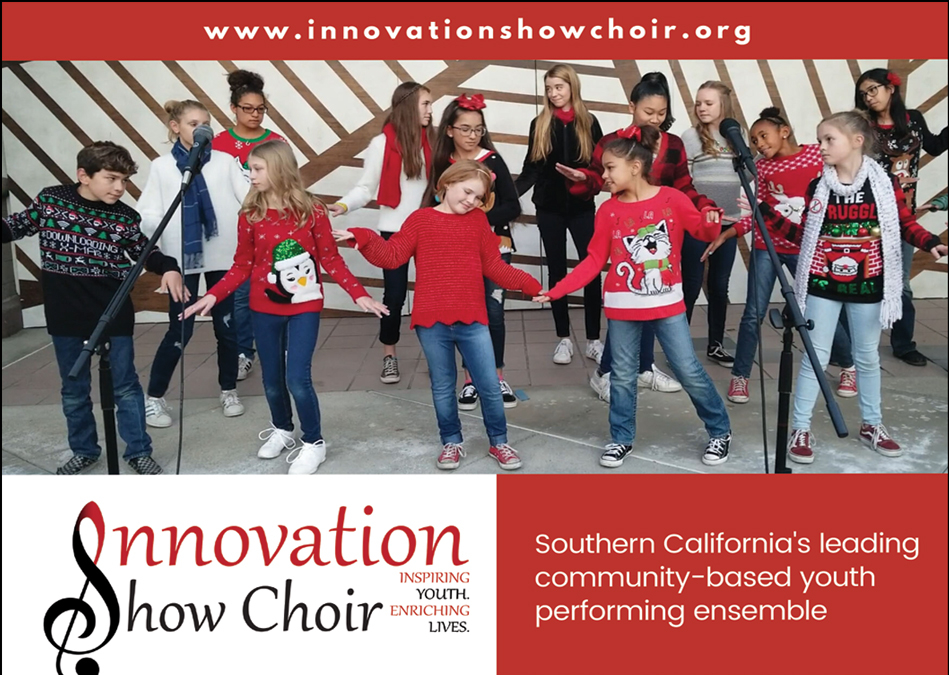 Auditions Now Open Innovation Show Choir