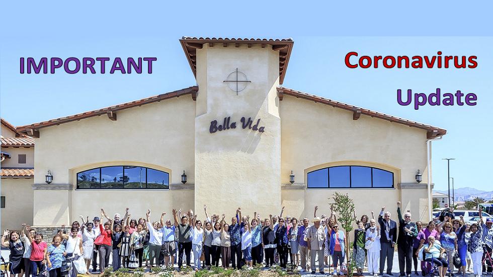 SCV Senior Center Plan for Response to COVID-19
