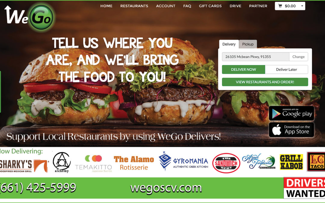WeGo inc, Food Delivery During the COVID-19 – Supporting our local community through local partners
