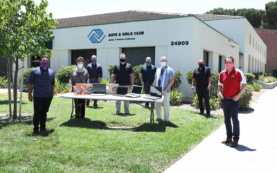 SCV Chamber's Latino Business Alliance Leads Community Giving to Provide Laptops to the Boys & GIrls Club