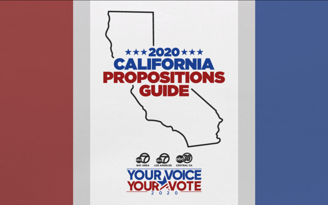 California Propositions: A Voter's Guide to the 2020 Ballot Measures