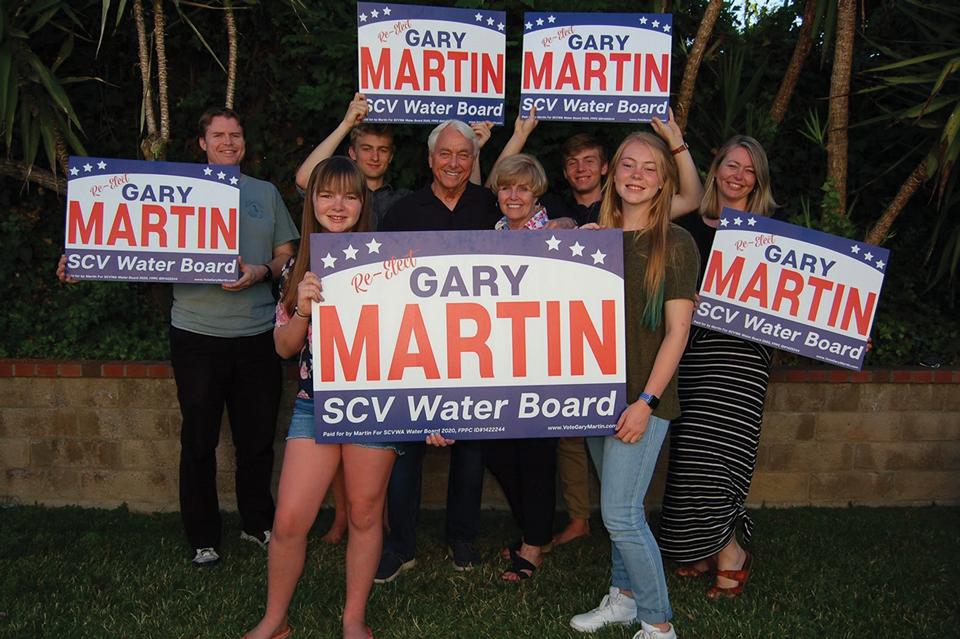 Vote Gary Martin for Water Board