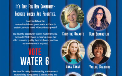 A New Wave of Leadership for the Santa Clarita Valley Water Agency Vote Water 6