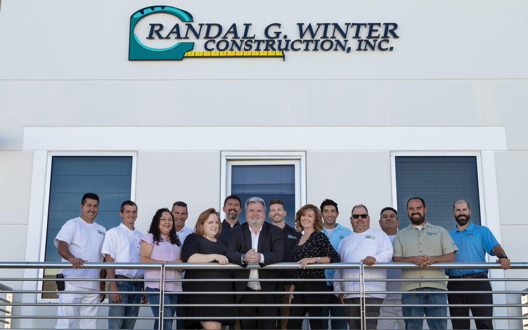 Local Family-Owned Construction Company Celebrates 40 Years in Business Randal G. Winter Construction