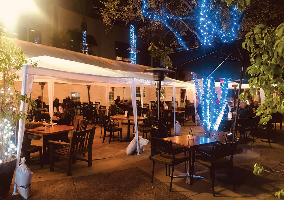 Join Us For Lunch Or Dinner on On of Our Beautiful Patios