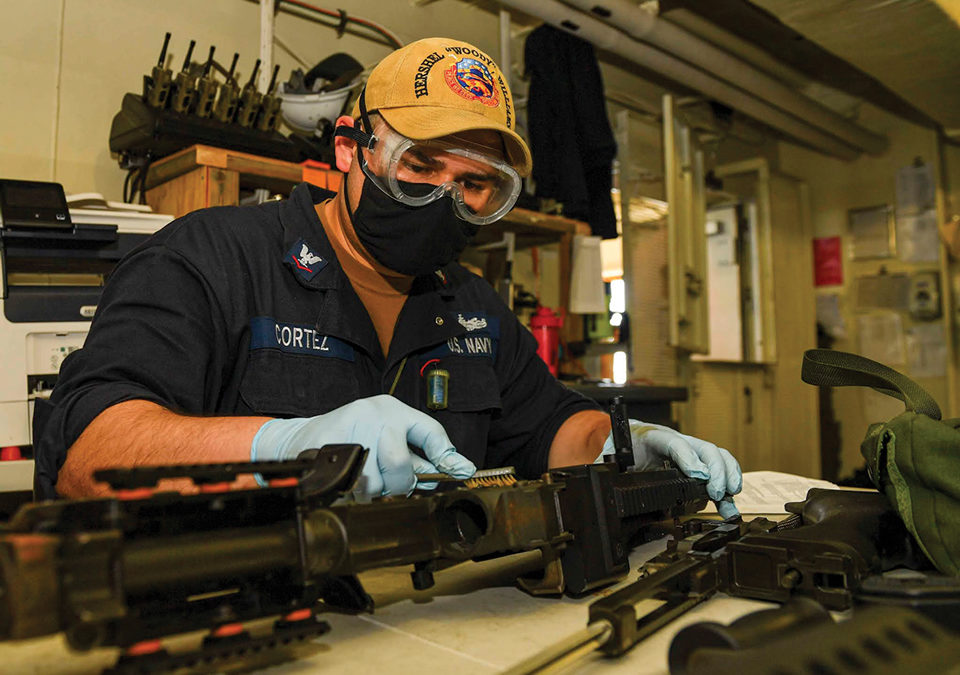 "Canyon Country Native Serves Aboard USS Hershel ""Woody"" Williams"