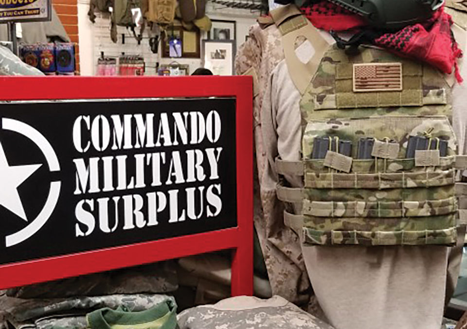 Keeping Santa Clarita Prepared – Commando Military Surplus