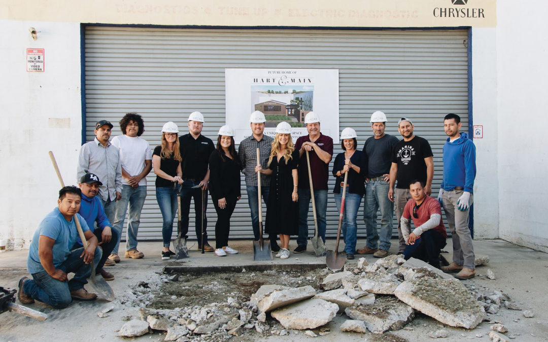 Hart & Main – Ground Breaking! Taking Reservations For May, 2022!