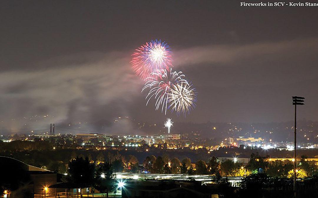"City of Santa Clarita's ""Spirit of America"" Fireworks Show Returns for 2021 –  Fireworks to Light Up the Night Sky"