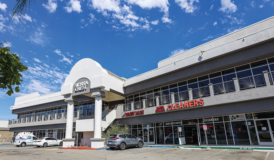 Newly Renovated Sierra Crest Shopping Center