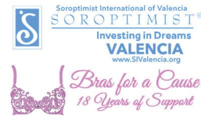 "Soroptimist International of Valencia Presents: ""Wanderlust: 18th Annual Bras for a Cause"""